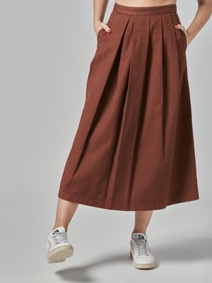 Pence SKIRT WITH FOLDS