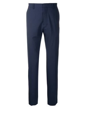 AMI CIGARETTE FIT TROUSERS NAVY Colour: NAVY