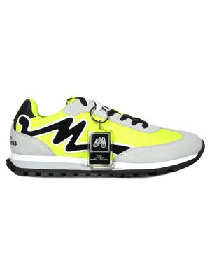 Marc Jacobs Women's The Jogger Trainer Neon Yellow Colour: NEON Y