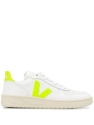 VEJA WOMEN'S VX022086W WHITE LEATHER SNEAKERS