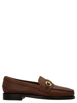 SEBAGO MEN'S 731161W900 BROWN OTHER MATERIALS LOAFERS
