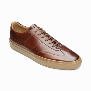 Loake Mens Owens Rubber Cup Soles Trainer