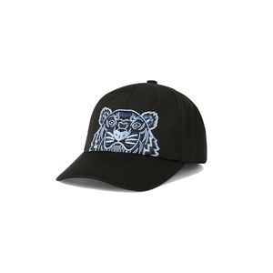 Kenzo Tiger Embroided Canvas Cap Black