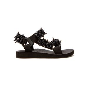 ARIZONA LOVE Trekky Pearl Sandals -Black Pearl