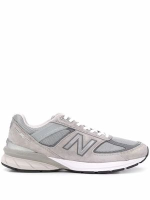 NEW BALANCE MEN'S NBM990GL5GREY GREY SUEDE SNEAKERS