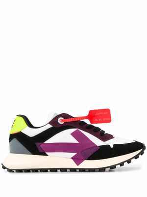 OFF-WHITE MEN'S OMIA159R20D390590128 MULTICOLOR LEATHER SNEAKERS