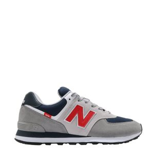 New Balance 574 Trainers Marble Head / Velocity Red