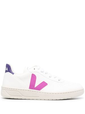 VEJA WOMEN'S X072536A WHITE LEATHER SNEAKERS