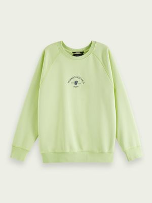 Relaxed fit sweatshirt with logo