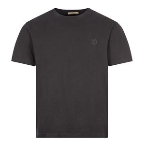T-Shirt Uno NJCO Circle - Faded Black