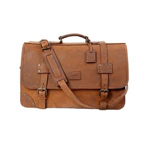 The Dust Italy Mod 118 Travel Bag Heritage Brown Heritage Brown
