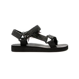 ARIZONA LOVE Trekky Rafia Sandals - Black
