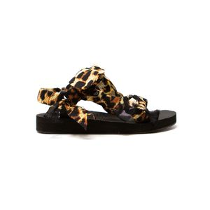 ARIZONA LOVE Trekky Chou Tie Up Sandals - Leopard
