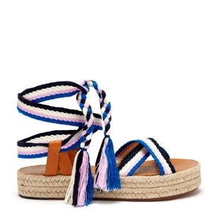 Isabel Marant Malay Espadrilles in Blue