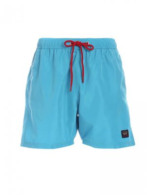 SWIM SHORT WITH ICONIC PAUL & SHARK 074 C0P5001