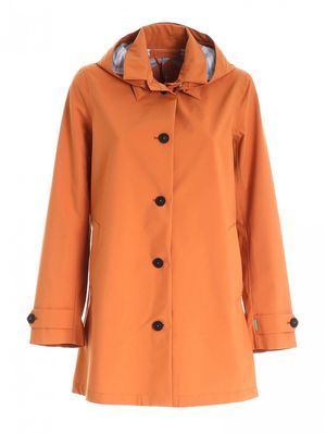 COAT WITH ORANGE LOGO SAVE THE DUCK D42250WGRIN12 70004