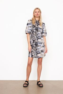 Santo shirt dress in an all over print