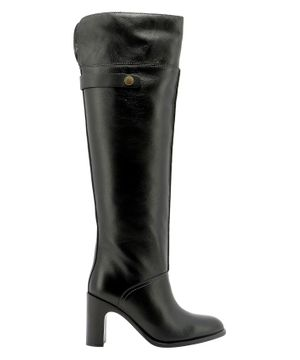 SEE BY CHLOÉ WOMEN'S SB35005A12001999 BLACK LEATHER BOOTS
