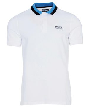 Barbour International Ampere Polo Shirt White