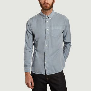 Larch shirt Asley Blue Knowledge Cotton Apparel