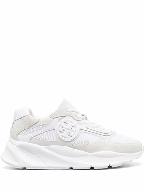 TORY BURCH WOMEN'S 76634100 WHITE LEATHER SNEAKERS