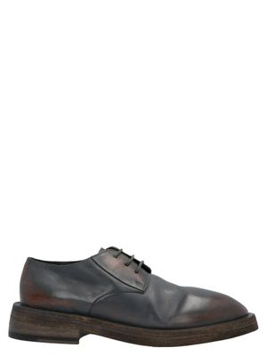 MARSELL MEN'S MM2771177260 GREY LACE-UP SHOES