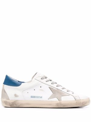 GOLDEN GOOSE MEN'S GMF00102F00218110509 WHITE LEATHER SNEAKERS