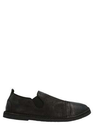 MARSELL MEN'S MM2798260666 BLACK LACE-UP SHOES