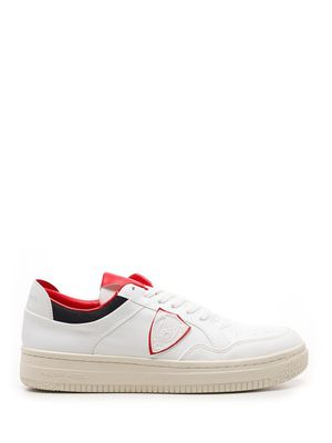 PHILIPPE MODEL MEN'S A11ELYLUBL03BL03 WHITE OTHER MATERIALS SNEAKERS