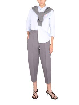 Ami Paris PLEATED TROUSERS