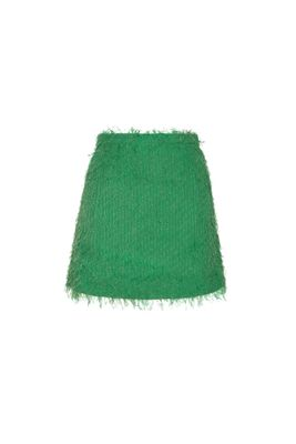 BABY MINI SKIRT IN GREEN FIL COUPE'
