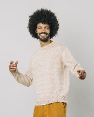 Mouline Brown Sweater