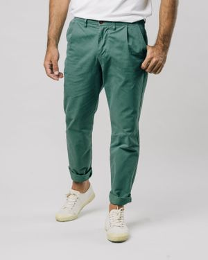 Kale Pleated Chino Pants