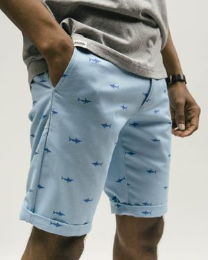 Sharks Printed Shorts