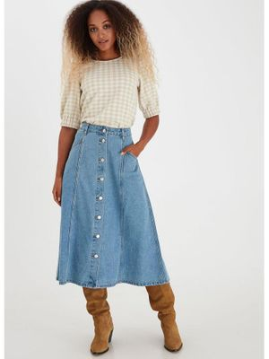B Young ByLyra Skirt Blue