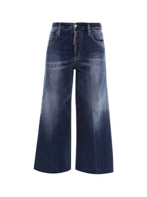 Jeans with wide leg