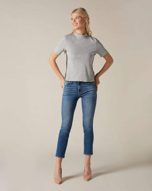 7 FOR ALL MANKIND ROXANNE SLIM ANKLE IN LUXE VINTAGE