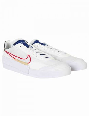 Nike Drop Type Trainers - White/University Red Colour: White/University Red