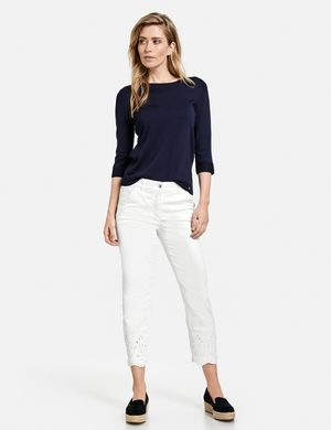 Broderie Anglaise Best4me 7/8 Jeans