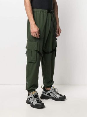 OFF-WHITE Parachute Cargo Trousers Green