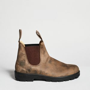 Blundstone Brown fattened nubuck ankle boot