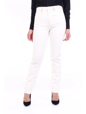 Isabel Marant straight jeans in ecru color