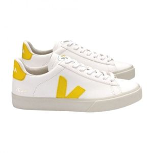 Campo Chromefree Leather White Tonic Trainers
