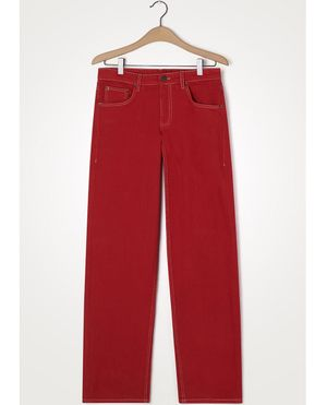 American Vintage Tineborrow Red Trousers