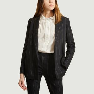 Camille tailored jacket with tennis stripes Tennis Admise Paris