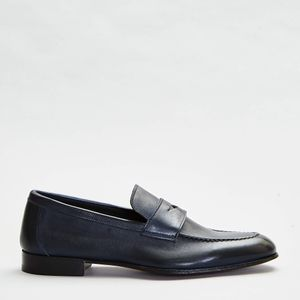 Perego Shoes Leather Moccasin - Blue