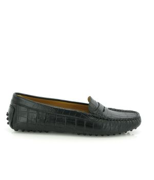 Michèle Drivers in croco-effect leather