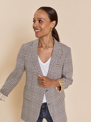 Mary Clair Blazer in Ombre Blue