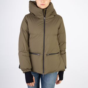 HERNO DOWN JACKET PI155DL-11106 GORE WINDSTOPPER MILITARY GREEN