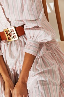BY MALINA ICONIC BELT IN COGNAC